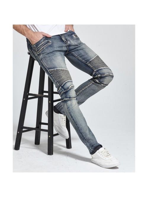 Men Jeans Design Biker Jeans Skinny  Jeans