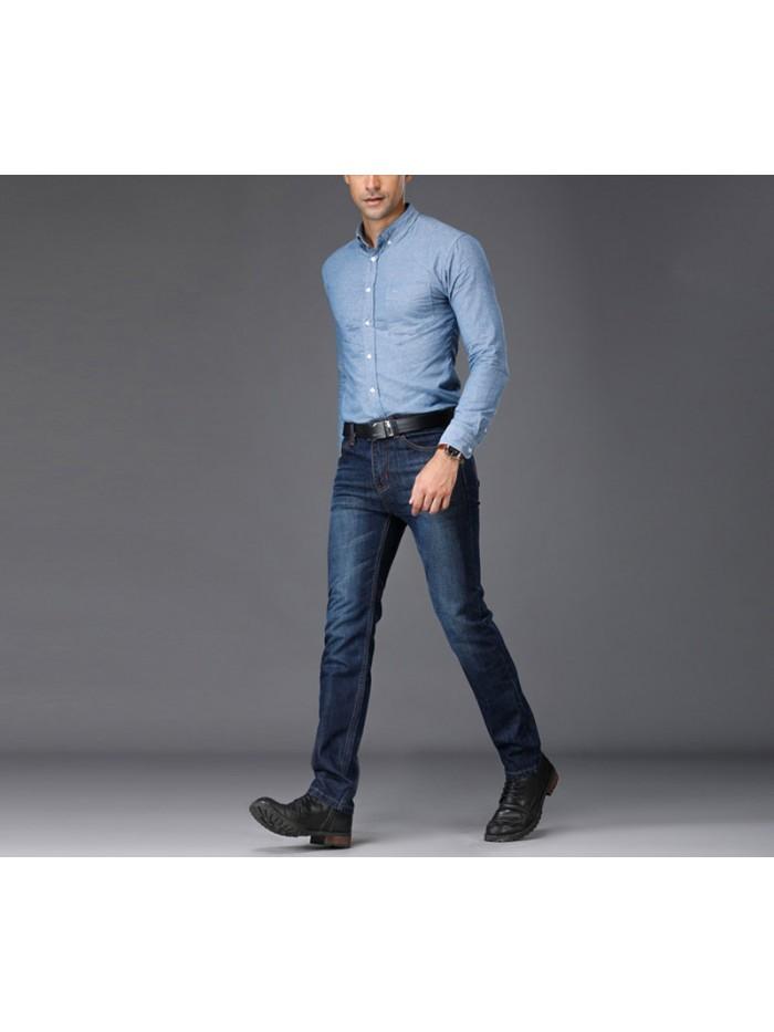 European American Style Stretch Men Jeans