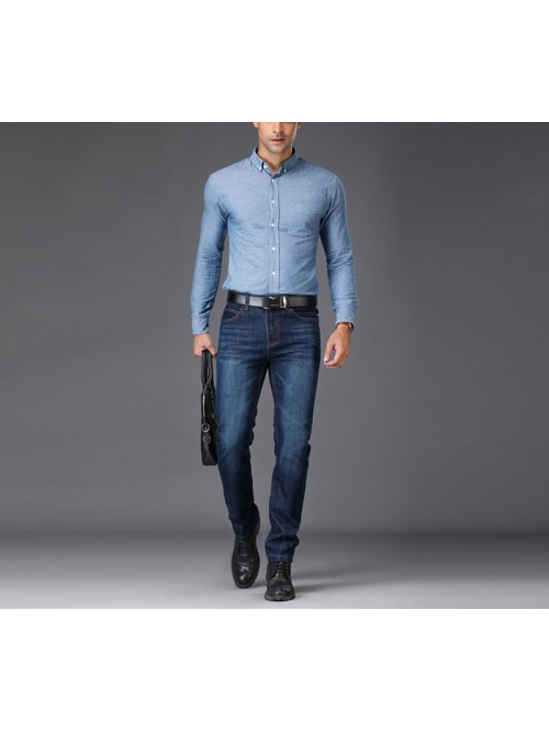 European American Style Stretch Men Jeans
