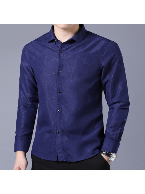 Long Sleeve Formal Business Man Shirt