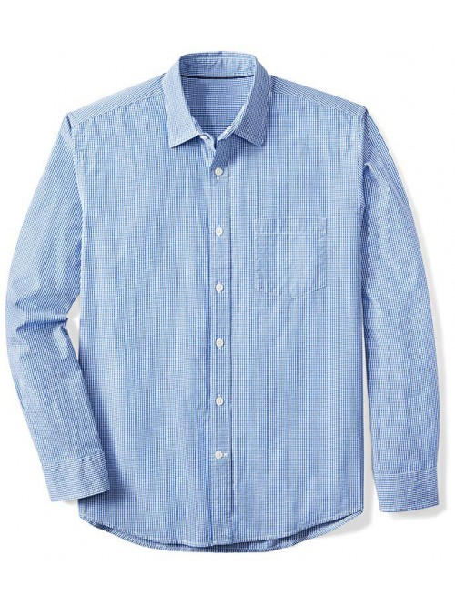 Men's Regular-Fit Long-Sleeve Gingham Shirt