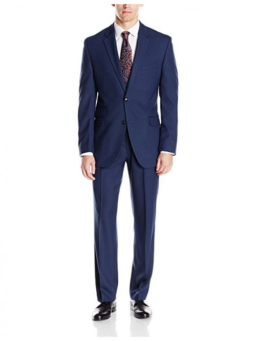Men's Slim Fit Suit w/Hemmed Pant